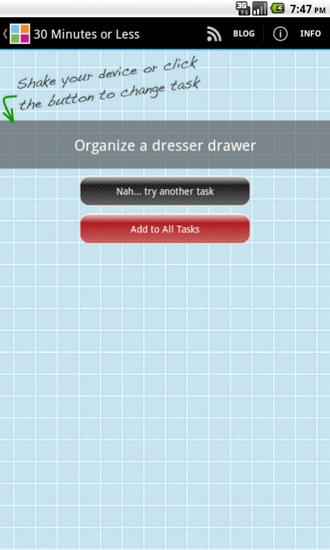 Organizing Junkie app 1