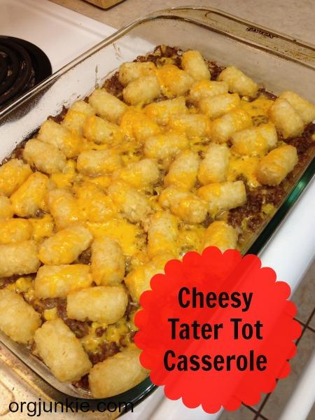 cheesy tater tot casserole