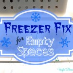 Freezer Fix for Empty Spaces