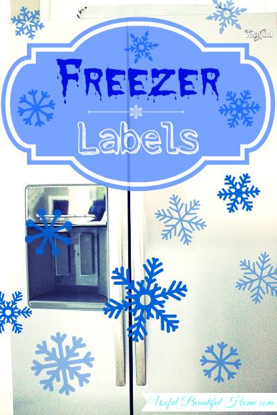 Freezer Friendly Labels