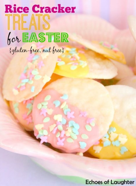 Gluten-Free Rice Cracker Treats for Easter