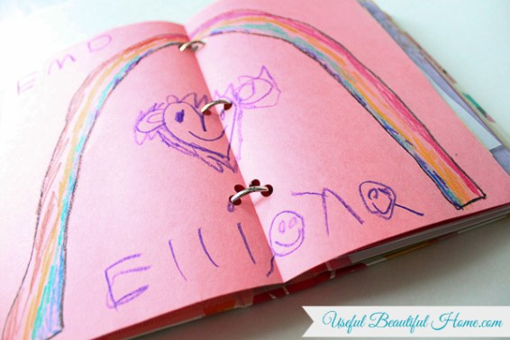 This is a great way to keep all those handmade keepsakes from children this Mother's Day