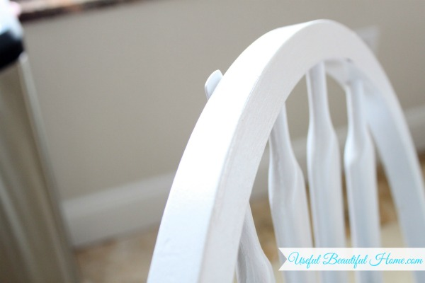Even a small Command Hook will not fit this style of dining chair