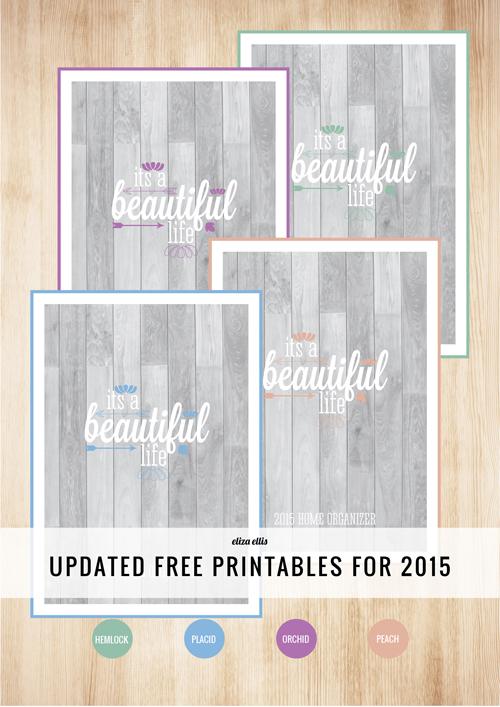 Free 2015 Printables