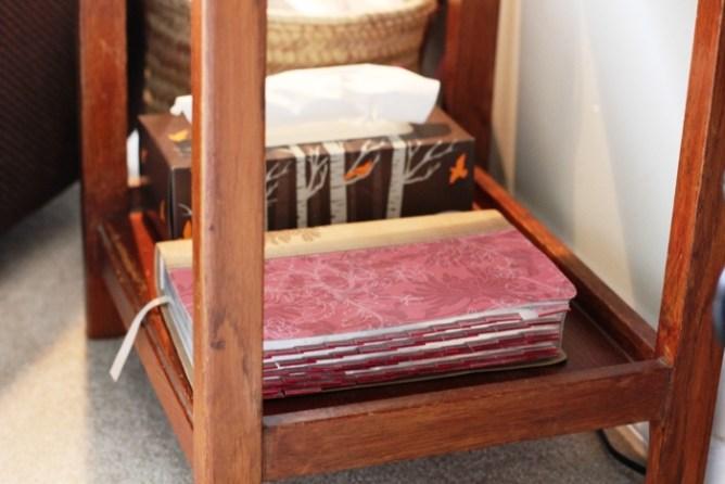 Living Room Quiet Corner Organization 6