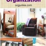 Top Organizing Bloggers Family Room Tour: Quiet Time Corner Organization