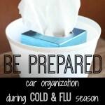 Car Organization During Cold & Flu Season