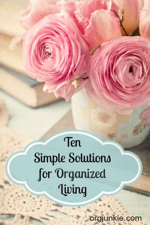 Ten-Simple-Solutions-for-Organized-Living