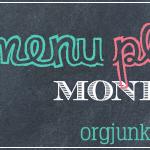 Menu Plan Monday ~ April 6/15