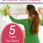 5 Spring Cleaning Tasks You Don't Want to Forget