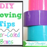 DIY Moving Tips: Color-Coded Boxes