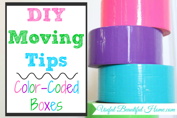 Are you moving soon?  Here is a great moving tip for keeping track of your boxes