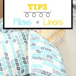DIY Moving Tips: Pillows & Linens