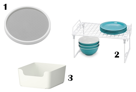 bathroom cabinet items