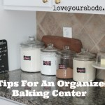 6 Tips for an Organized Baking Center