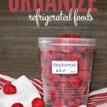 The Easiest Way to Organize Refrigerated Foods