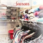Organizing Clothes for the Seasons + free printable