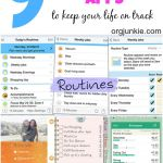 9 Favorite Organizing Apps to Keep Your Life on Track