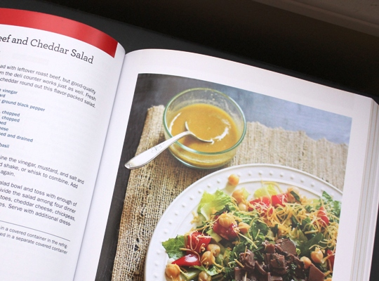 Roast Beef and Cheddar Salad 1