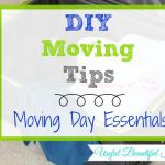 DIY Moving Tips: Moving Day Essentials