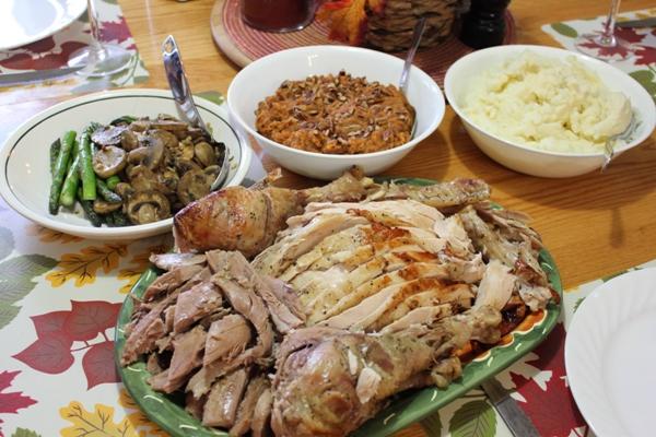 Thanksgiving Dinner Paleo Style