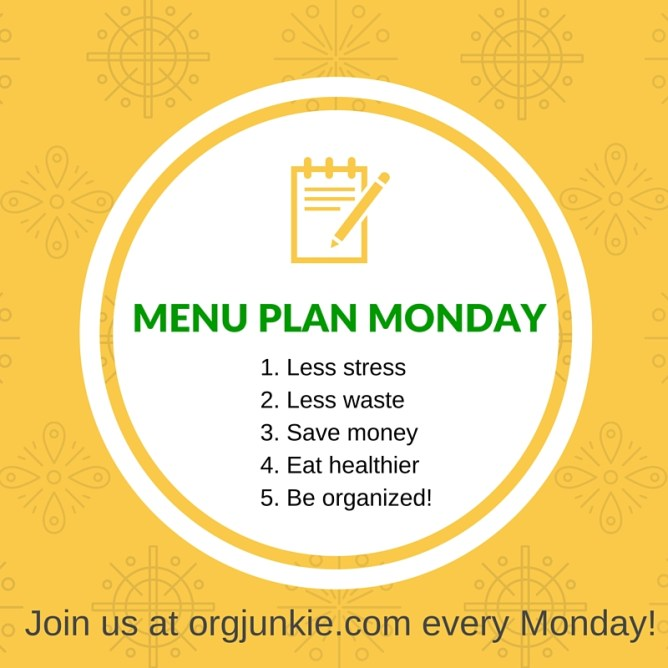 Menu Plan Monday - recipe ideas and menu planning inspiration for the week of Dec 28/15