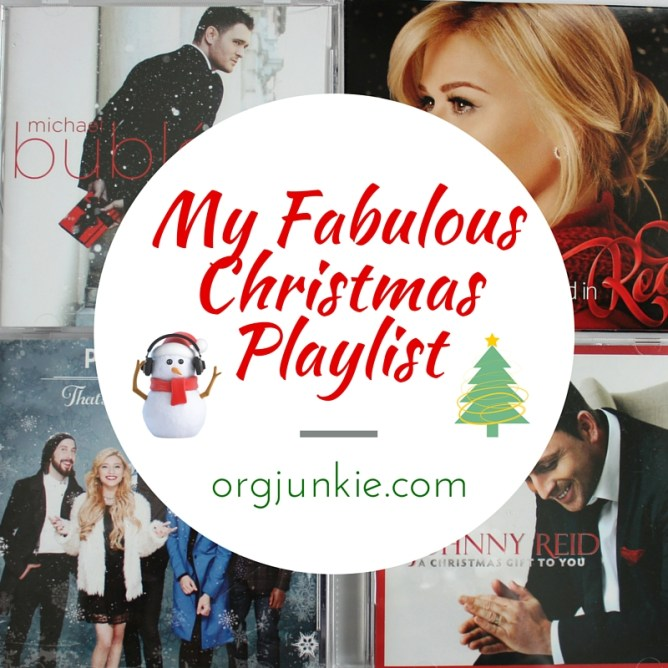 Org Junkie's Fabulous Christmas Playlist
