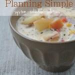 Keep Menu Planning Simple