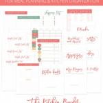 Menu Plan Monday ~ February 8/16