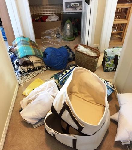 Linen closet overhaul