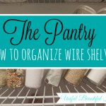 The Pantry: How To Organize Annoying Wire Shelves