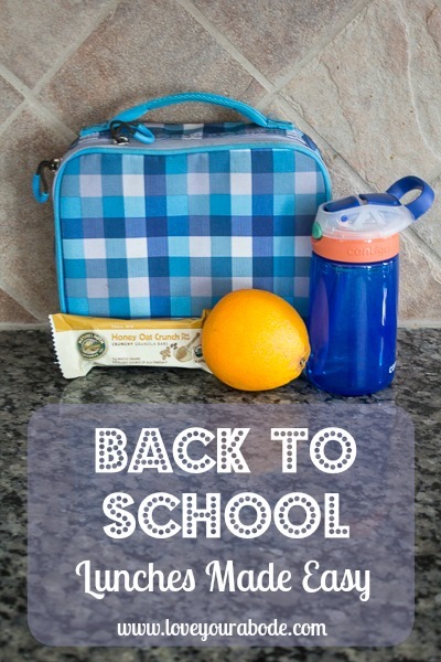 back to school lunches made easy