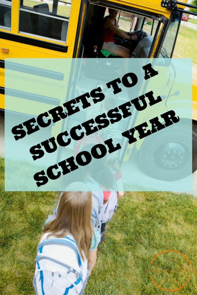 Secrets-to-a-Successful-School-Year at I'm an Organizing Junkie blog