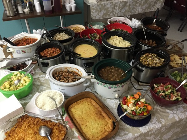 church-potluck