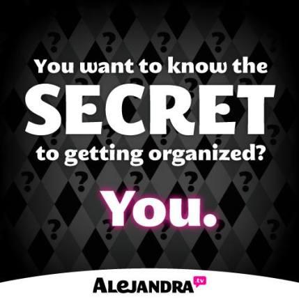 secret-to-getting-organized