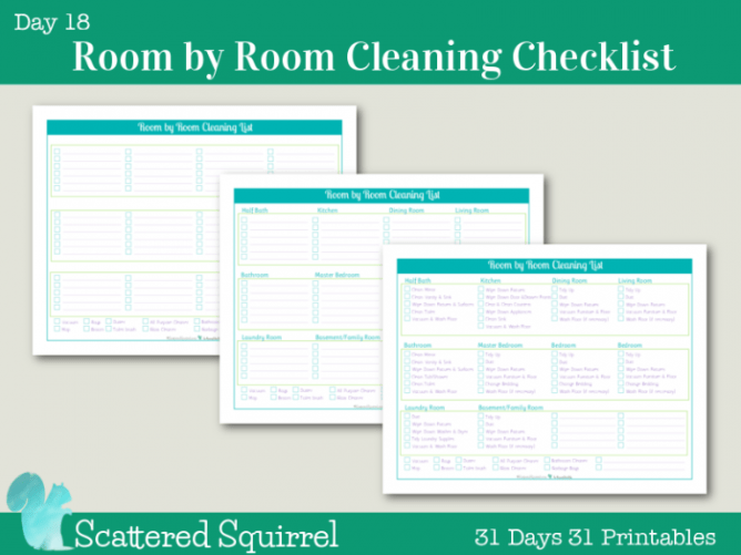 Organized For Christmas: Task #6 Cleaning & Organizing