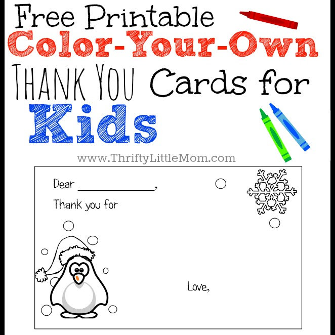 Luscious image for free printable thank you cards for students