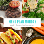 Menu Plan Monday ~ Jan 9/17