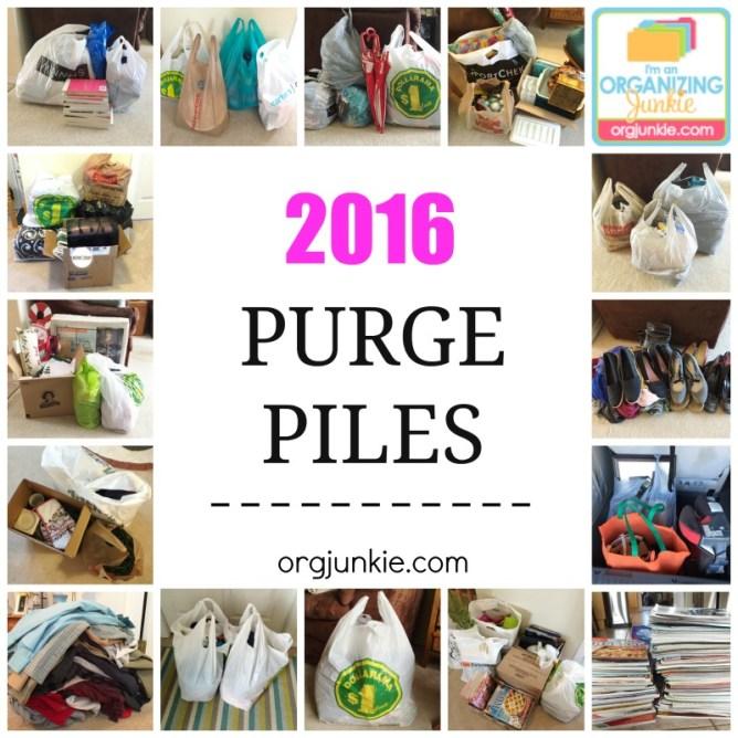 2016 purge piles