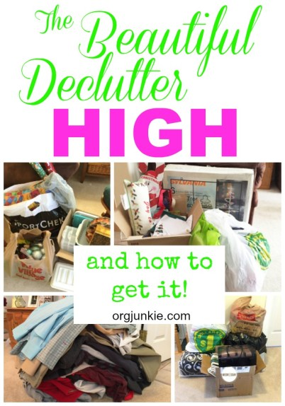 The Beautiful Declutter High and How to Get It