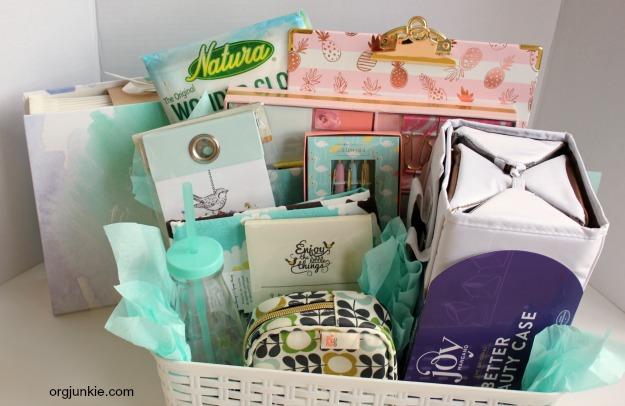 Org Junkie's 11th Blog Anniversary GIVEAWAY! Fun basket of goodies!