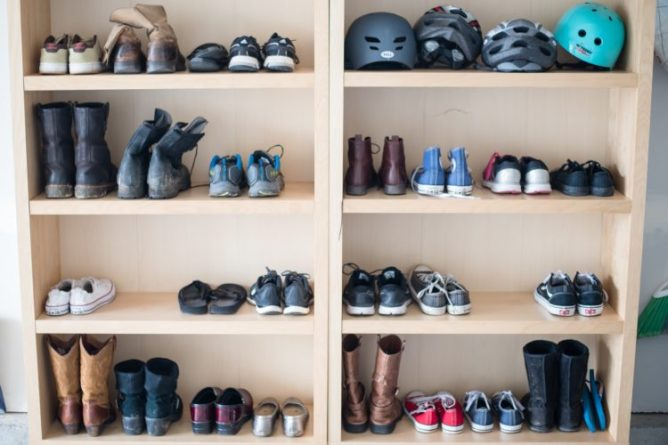 DIY Garage Organization at I'm an Organizing Junkie blog