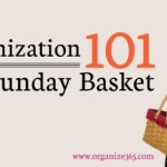 Paper Organization 101: The Sunday Basket
