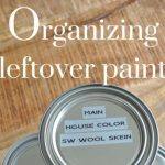 How to Organize Leftover Paint