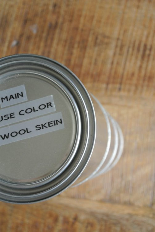 How to Organize Leftover Paint at Im an Organizing Junkie blog