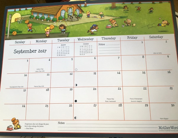 Ultimate Family Calendar 2018