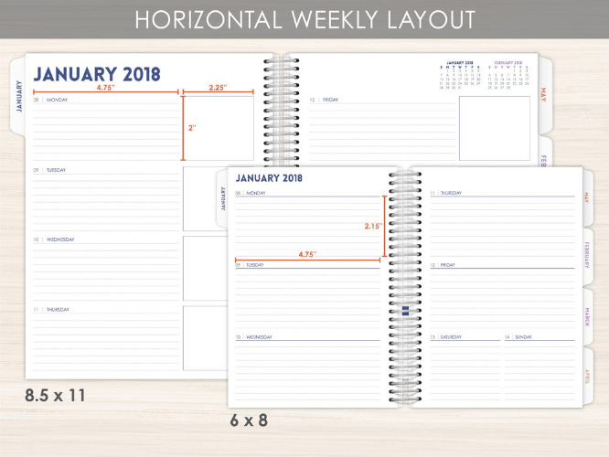 create your own customized planner without all the work with purple