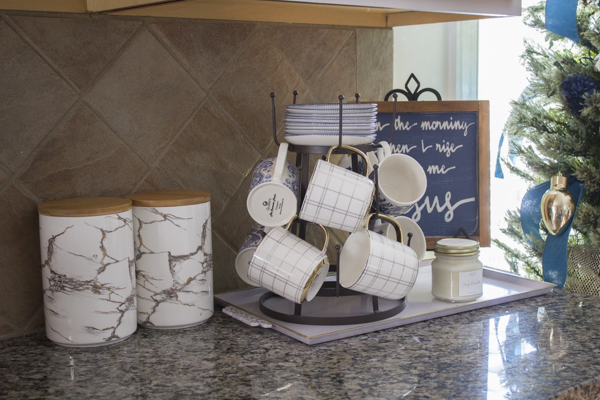 4 Tips for Kitchen Organizing Using Canisters at I'm an Organizing Junkie blog