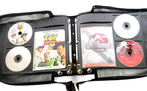 DVD metal ring binder
