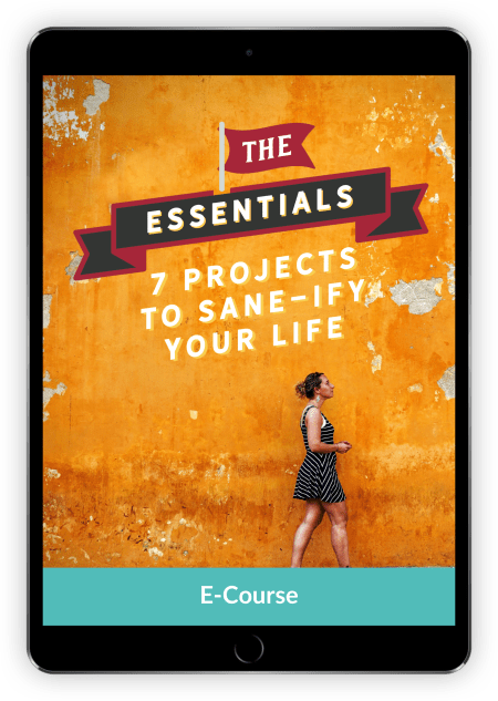 Four Great eCourses to Help You Live with Less Clutter and Less Stress